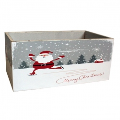 Caja Madera Navidad