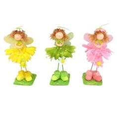 Muñecas con flores surtidas