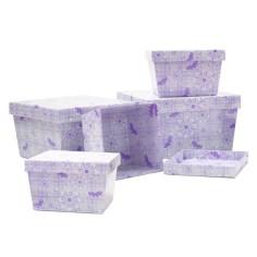 Cajas decorativas 2 (5 piezas)