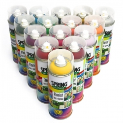 PINTURA SPRAY PARA FLOR NATURAL y COMPLEMENTOS SPRING 300ml