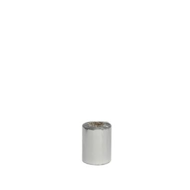 ROULEAU CELLOPHANE TUBE, ARGENTÉ, (4 mesures)