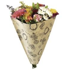 Bolsa de Bouquet - KRAFT RETRO