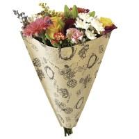 Housse pour Bouquet - KRAFT RETRO